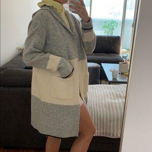 Hooded long cardigan!